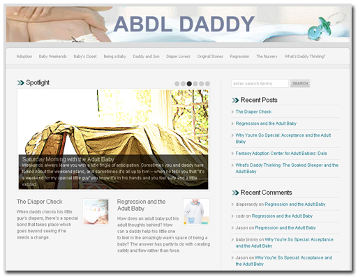 Adult baby dating site